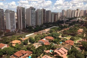 Vista do escritório de Ribeirão Preto